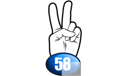 salut de motard departement 58