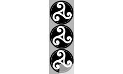 stickers / autocollant Bretagne triskèle