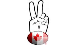 salut de motard canadien