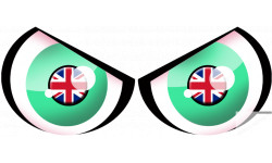 Paire d'yeux Anglais