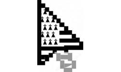stickers /  autocollants curseur flèche bretonne