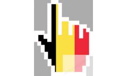 curseur main belge