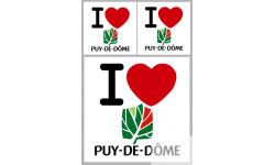 stickers / autocollant département du Puy de Dôme