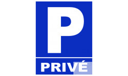 "stickers / autocollants ""Parking privé"""