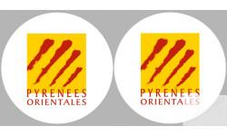stickers / autocollant département des Pyrénées orientales