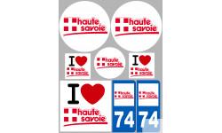 stickers / autocollant département de la Haute Savoie