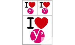 stickers / autocollant département des Yvelines