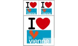 stickers / autocollant département de la Vienne