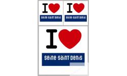 stickers / autocollant département de la Seine Saint Denis
