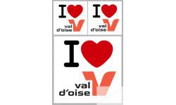 stickers / autocollant département du Val d'Oise