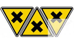 Stickers  / Autocollants nocif irritant