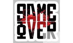 Stickers  / Autocollant Game Over