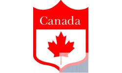 "stickers et autocollants ""Blason Canada"""