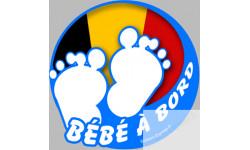 bébé à bord belge garçon