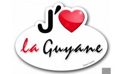 j'aime la Guyane