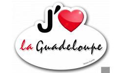 j'aime la Guadeloupe