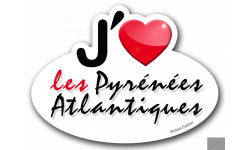 j'aime les Pyrénées-Atlantiques