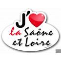 j'aime la Saône-et-Loire