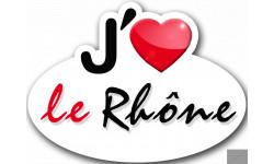 j'aime le Rhône