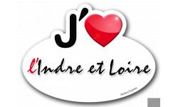 j'aime l'Indre-et-Loire