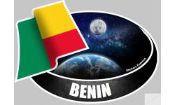 autocollant BENIN