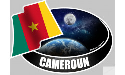 autocollant CAMEROUN