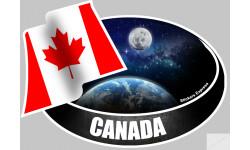 autocollant CANADA