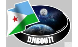 autocollant DJIBOUTI