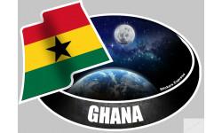 autocollant GHANA