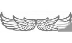 stickers / autocollant paire d'ailes