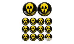 Stickers / autocollant anti-nucléaire