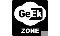 sticker zone geek wifi