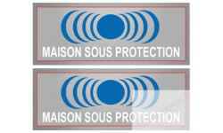 Stickers  / Autocollants série Maison sous protection