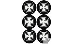 Stickers / autocollants Croix de Malte 1