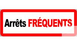 stickers / autocollants arrêts fréquents 2
